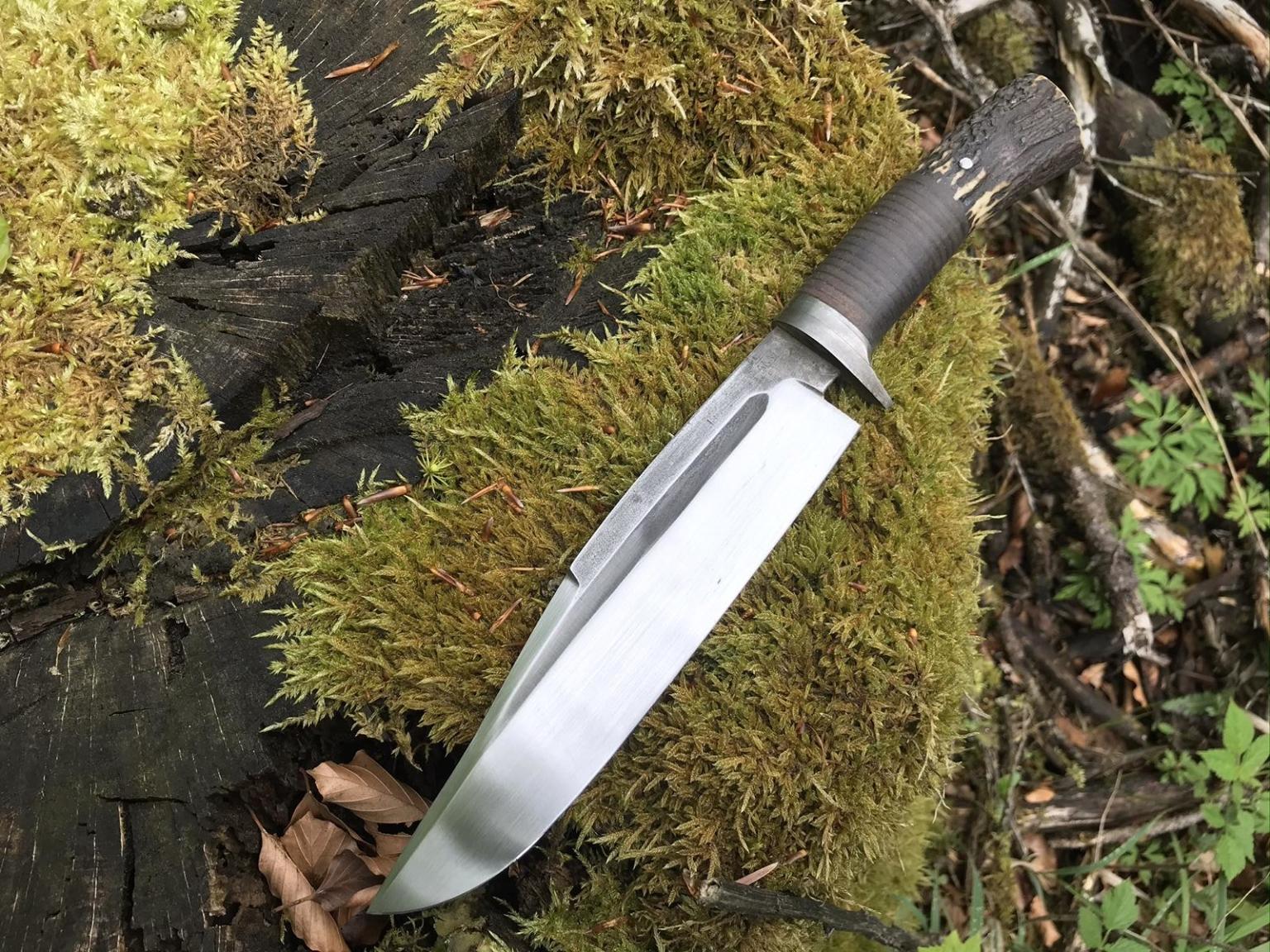 Handgefertigtes Bowie Messer
